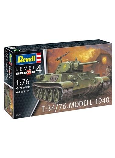 Revell  Maket Modell T-34-76 1940 3294 Renkli